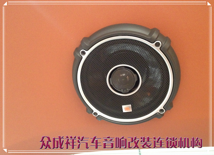 丰田塞纳安装升级全套美国JBLGTO系列汽车音响GTO高端6.5寸套装高清图片